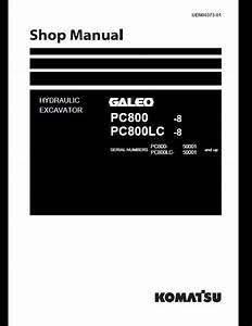 Komatsu Galeo Pc800