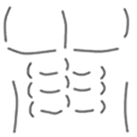 six pack abs roblox