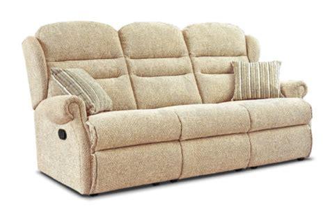 reclining settees standard fabric reclining 3 seater settee