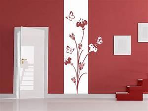 Pflanze Mit S : wandtattoo als wandbanner blumen wandtattoos pflanzen ~ Orissabook.com Haus und Dekorationen