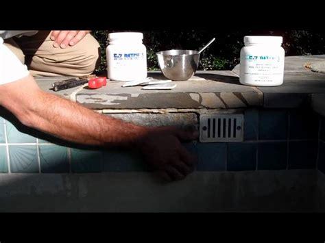 how to repair pool tile part 1