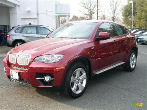 2011 Vermillion Red Metallic Bmw X6 Xdrive50i #46091427