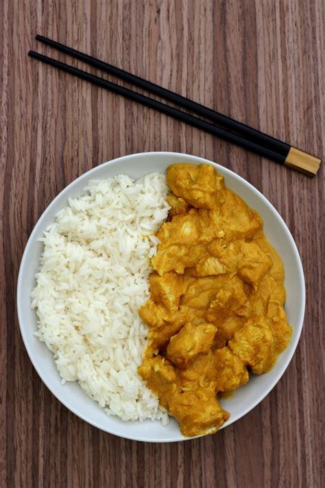 cuisine poulet au curry curry de poulet au lait de coco et cacahuètes blogs de