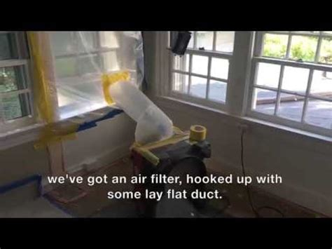 constructeams dave  explains negative air setup youtube