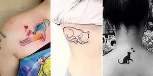 Tatouage Simple Homme : 20 tatouages de chat qui vous feront ronronner de plaisir ~ Melissatoandfro.com Idées de Décoration