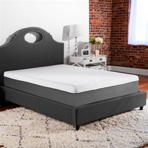 biopedic supreme 10 in firm gel infused memory foam