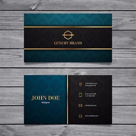 elegant business card template template