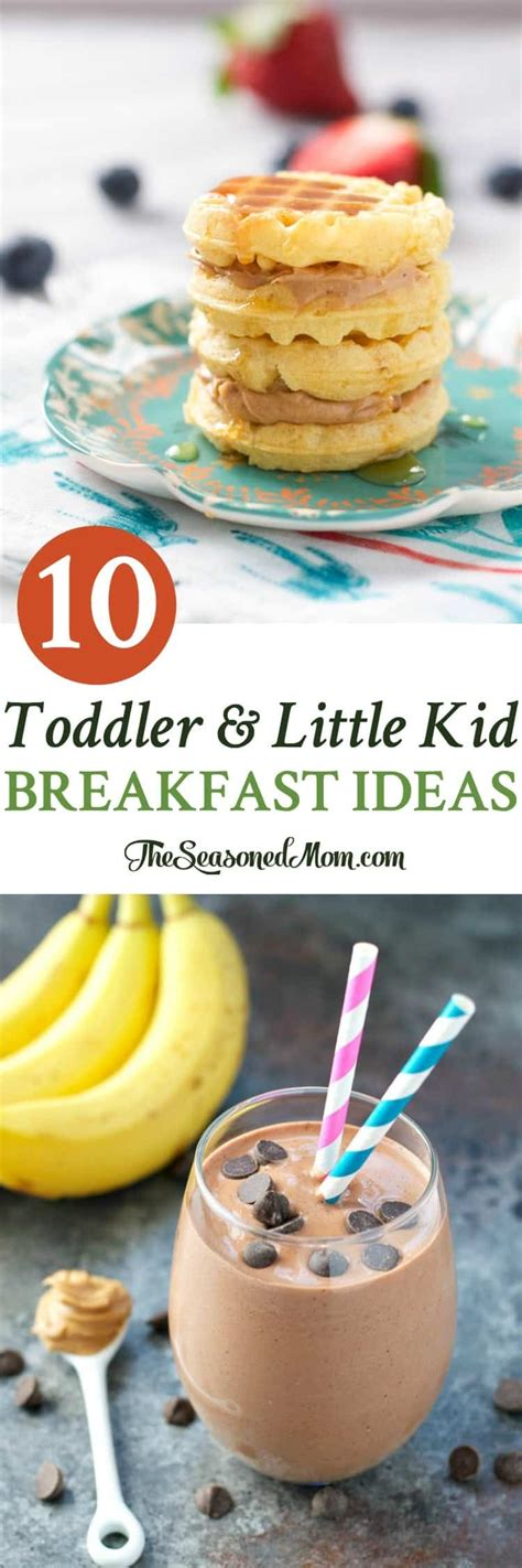 10 toddler and kid breakfast ideas the seasoned 400 | Toddler and Little Kid Breakfast Ideas