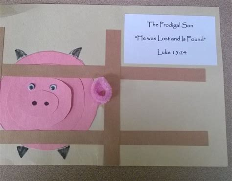 i used this craft with the story of the prodigal for 892   331f14d973a70f3c42e70cbb14a05a79