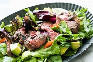 Steak Salad Recipe SimplyRecipes com