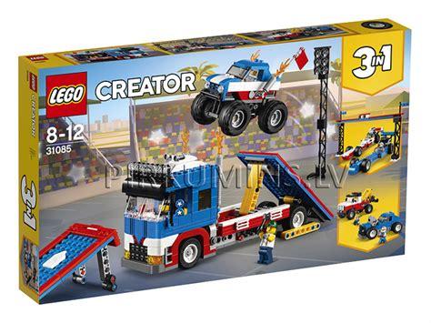 31085 LEGO® Creator Mobilā kaskadieru izrāde, no 8 līdz 12 ...