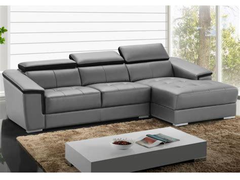 promo canape cuir promo canapé d 39 angle cuir