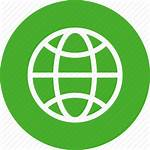Icon Globe Earth Planet Circle Icons Network