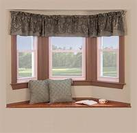 curtains for bay windows Curtain Rods For Bay Windows | Casual Cottage