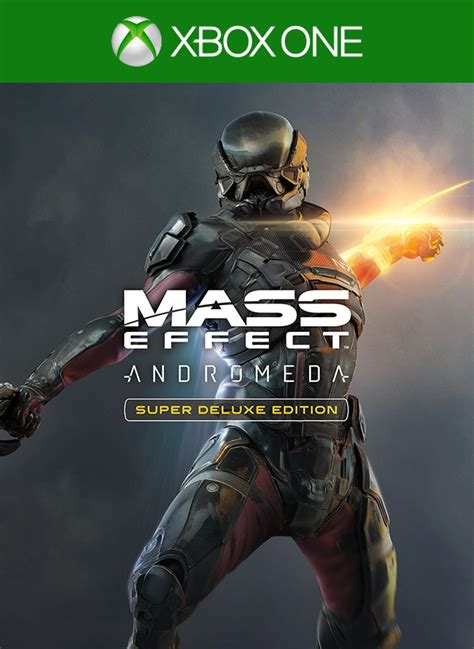 Buy Mass Effect Andromeda Super Deluxe Edition Xbox One