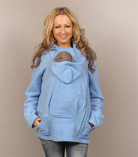 baby carrier sweater babywearing hoodie fleece jumper wearing sweater by