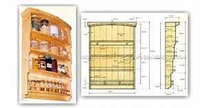 Spice Rack Plans • WoodArchivist