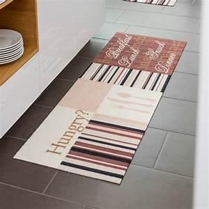 Tapis De Cuisine Design : tapis de cuisine contemporain par tapis chic collection ~ Teatrodelosmanantiales.com Idées de Décoration