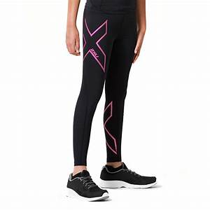 2xu Size Chart 2xu Kids Girls Compression Long Tights Black Pink