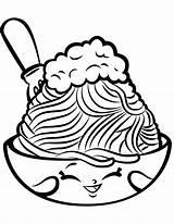 Coloring Shopkin Spaghetti Pages Shopkins Pasta Netti Season Printable Colouring Meatballs Cartoon Lovely Chelsea Supercoloring Print Drawing Sheets Characters Kawaii sketch template