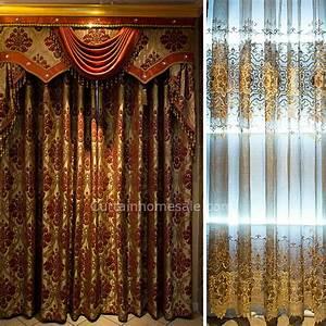 Rideau Rose Gold : victorienne de prestige chambre rideau in gold couleur tissu chenille sans valance ~ Teatrodelosmanantiales.com Idées de Décoration