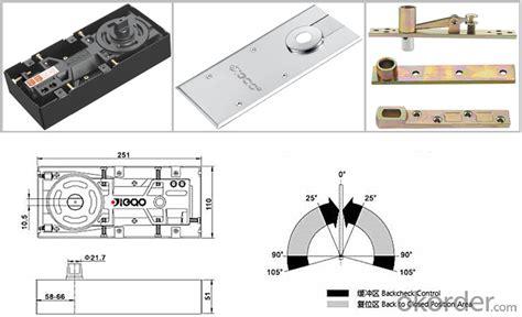 buy hydraulic floor hinge door closer floor for