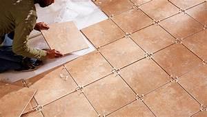 Umístění dlaždic na podlahu
