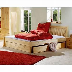 Bett 200 X 180 : bett ronja gebeizt ge lt 180 x 200 cm d nisches bettenlager ~ Bigdaddyawards.com Haus und Dekorationen
