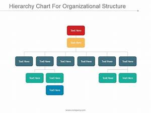 Hierarchy Chart For Organizational Structure Ppt