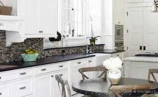 white kitchen cabinets backsplash ideas black granite white cabinet glass tile idea backsplash kitchen backsplash products ideas