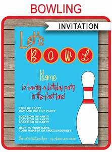 Circus Party Invitations Free Templates Bowling Party Invitations Template Birthday Party