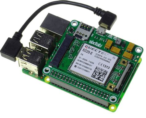 Sixfab Launches Raspberry Pi 3g-4g/lte Base Shield V2 For