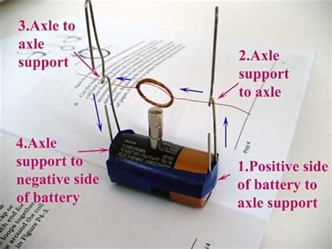 Build An Electric Motor by Build A Simple Electric Motor Science Project