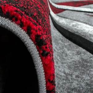 Teppich Rot Schwarz : designer teppich mit konturenschnitt muster gestreift grau ~ Pilothousefishingboats.com Haus und Dekorationen