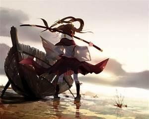 Anime, Girl, Katana, Original, Characters, Wallpapers, Hd, Desktop, And, Mobile, Backgrounds
