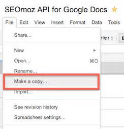 updated tool moz api data for google docs youmoz moz With docs google viewer api