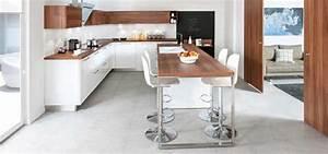 cuisine ouverte schmidt strass 1 en deco blanc et bois With palette couleur peinture mur 14 amenagement optimise et deco pour ma cuisine ouverte