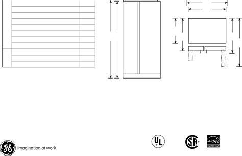 ge refrigerator gsljfxlb user guide manualsonlinecom