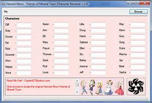 Cheat Codes For Harvest Moon Friends Of Mineral Town