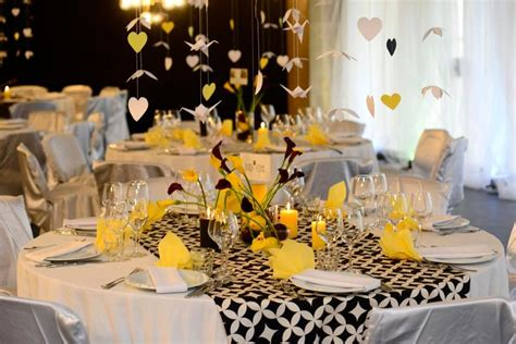 87 Best Images About My Wedding Decoration. Yellow, Black