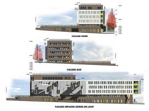 immeuble de bureaux lyon rh 244 ne l atelier 127l atelier 127