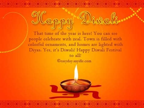 Happy Diwali Wishes in English - Easyday