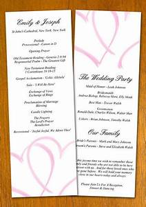 free wedding program templates free wedding program With examples of wedding programs templates