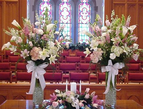 church wedding decorations shannon s custom florals springfield eureka springs