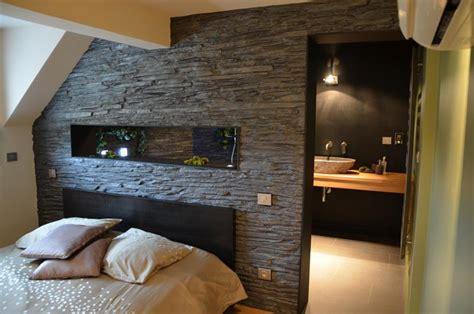 chambre avec salle de bain ouverte chambre ouverte sur la salle de bains creation