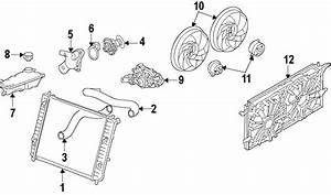 Chevrolet Tahoe Engine Cooling Fan Motor  Left  Enhanced