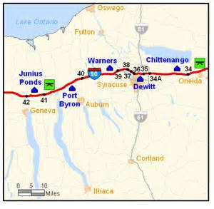 no gas at 3 spots on the new york state thruway travel