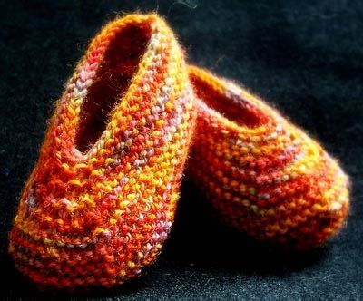 patterns  knitted slippers guide patterns