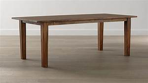 Basque Honey 82quot Dining Table Crate And Barrel
