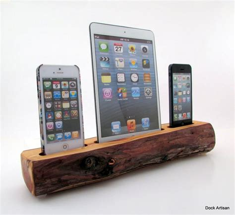 iphone charging station mini and dual iphone 5 redwood station